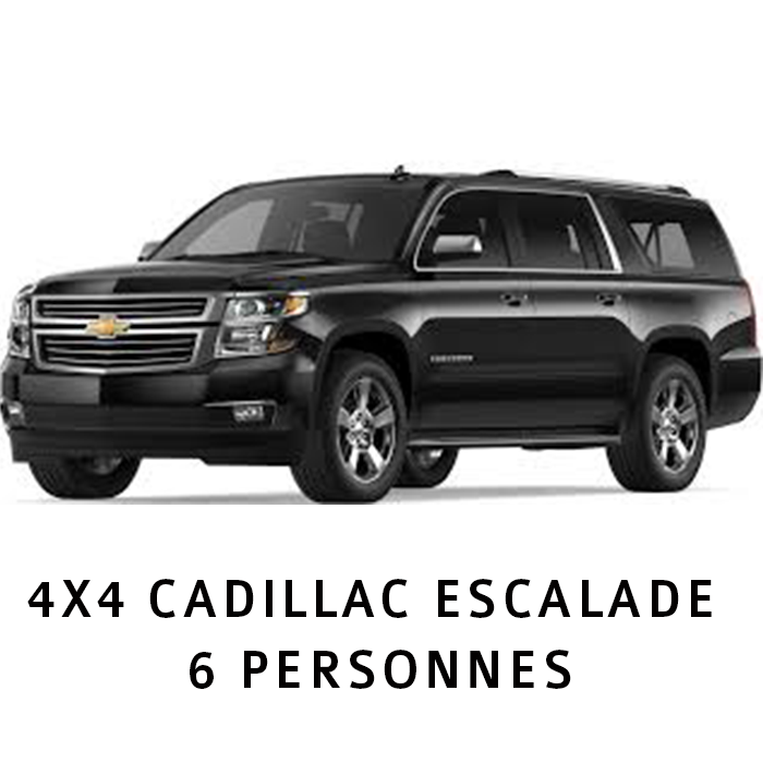 Shuttle (Airport) 4X4 CADILLAC ESCALADE 6 PERSONNES SITE