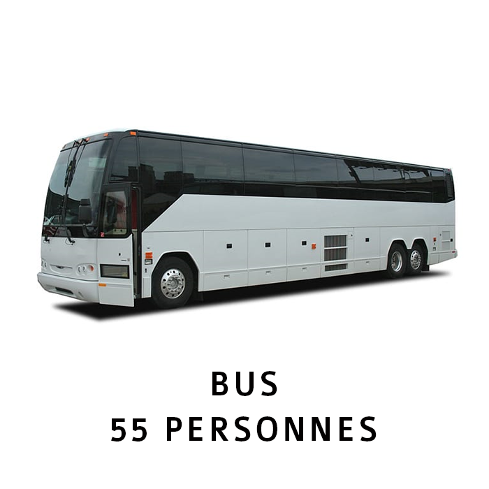 Shuttle (Airport) BUS 55 PERSONNES SITE