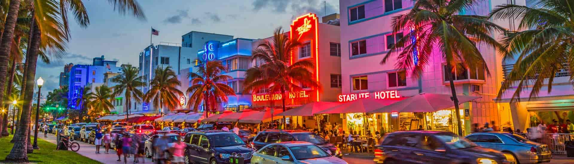 miami life Miami Life south beach miami ocean drive neon 1920x550