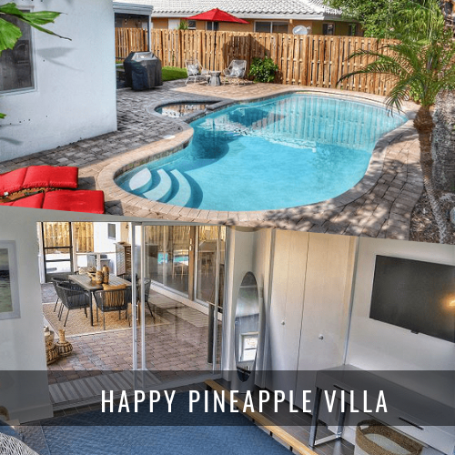 Locations de Villas de Luxe HAPPY PINEAPPLE VILLA
