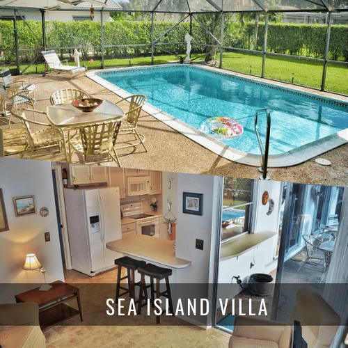 Locations de Villas de Luxe SEA ISLAND VILLA