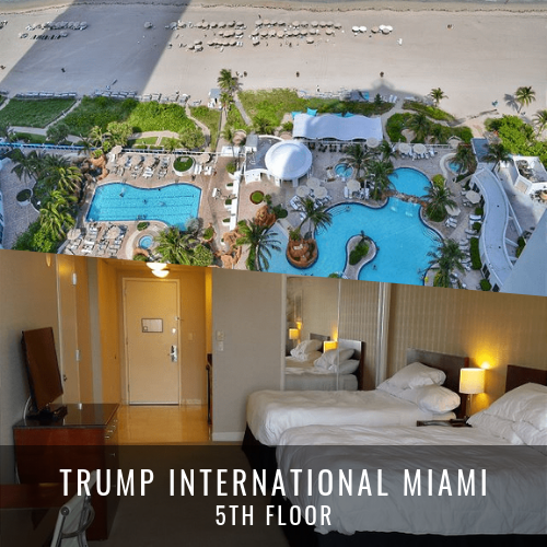 Locations de Villas de Luxe TRUMP INTERNATIONAL MIAMI 5TH FLOOR