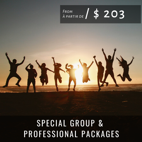 Accueil SPECIAL GROUP PACKAGES
