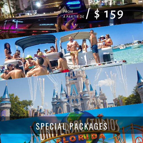 Accueil SPECIAL PACKAGES
