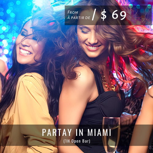 Nightclub Packages PARTAY IN MIAMI