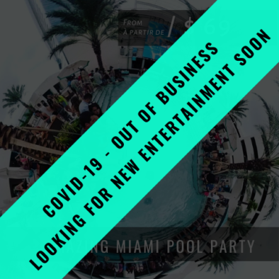 Nightclub Packages AMAZING MIAMI POOL PARTY OFB 394x394