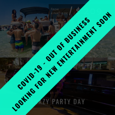 Nightclub Packages KRAZY PARTY DAY OFB 394x394
